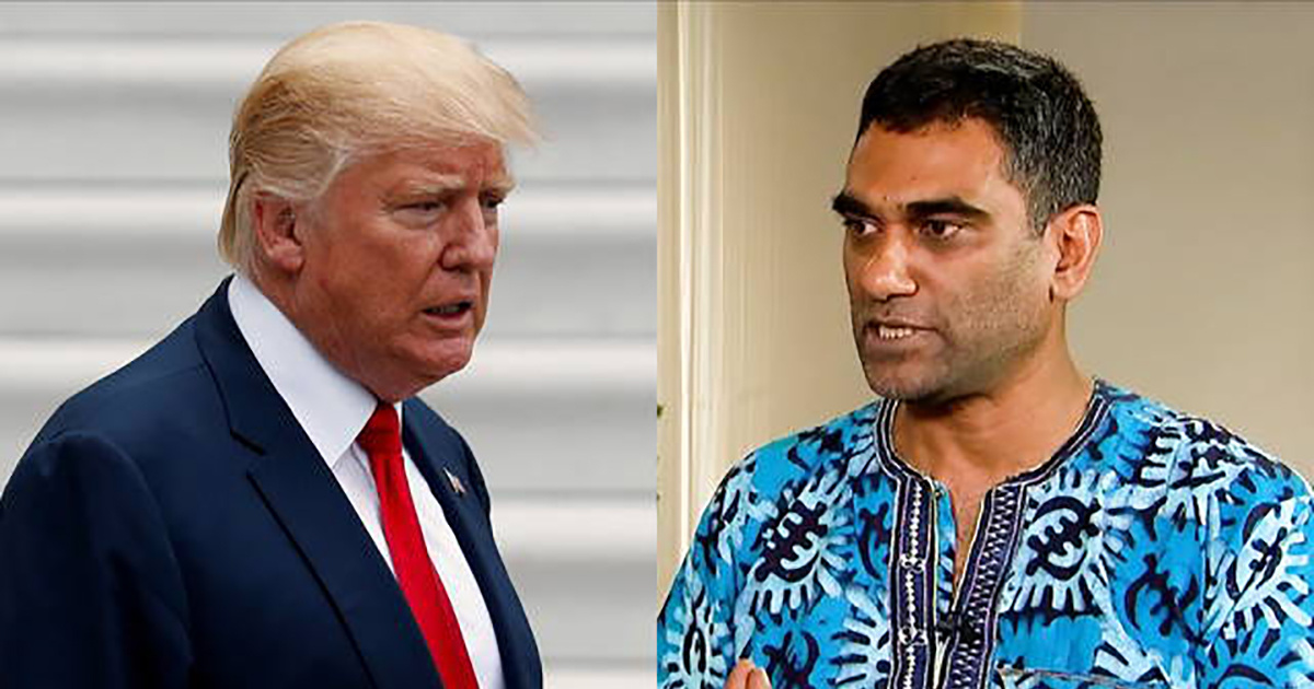 photo image Kumi Naidoo: UN Shouldn't 'Pander to Madness That Comes Out of the Trump Administration'
