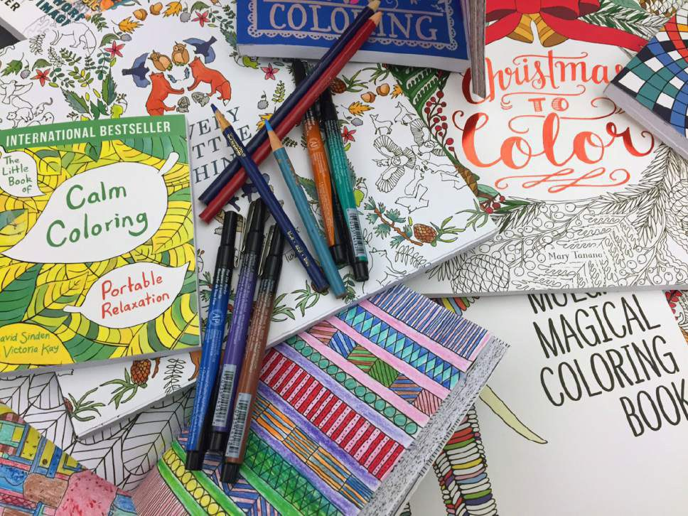 7 Benefits Of Adult Coloring Books