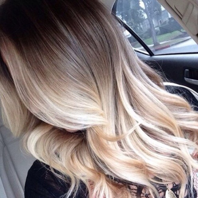 18 signs balayage is here to stay frosted blonde balayage over light brown hair solutioingenieria Image collections