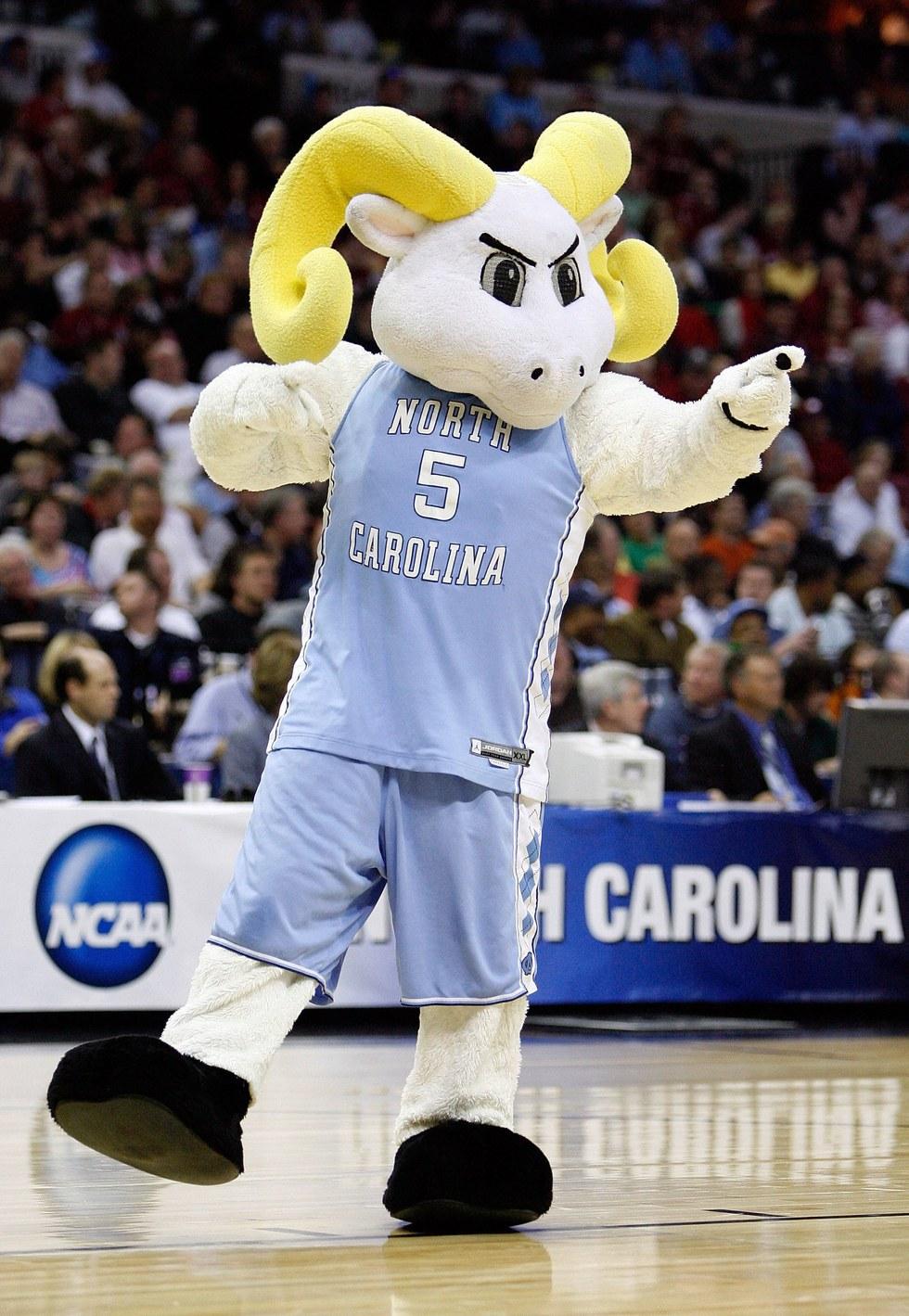 the 10 strangest college mascots