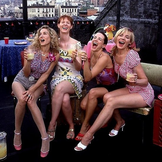 Image result for carrie and her friends and big