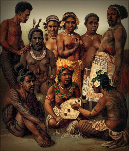 Pacific Island Girls Nude