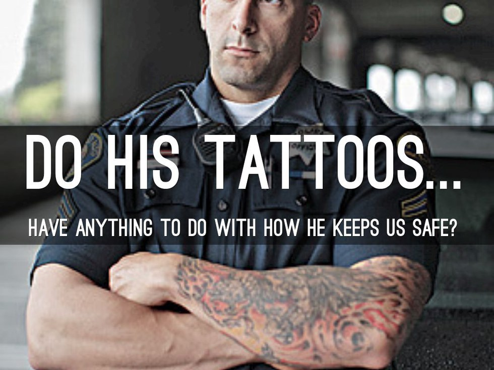 Why tattoos should be allowed in the workplace for Jobs that don t allow tattoos