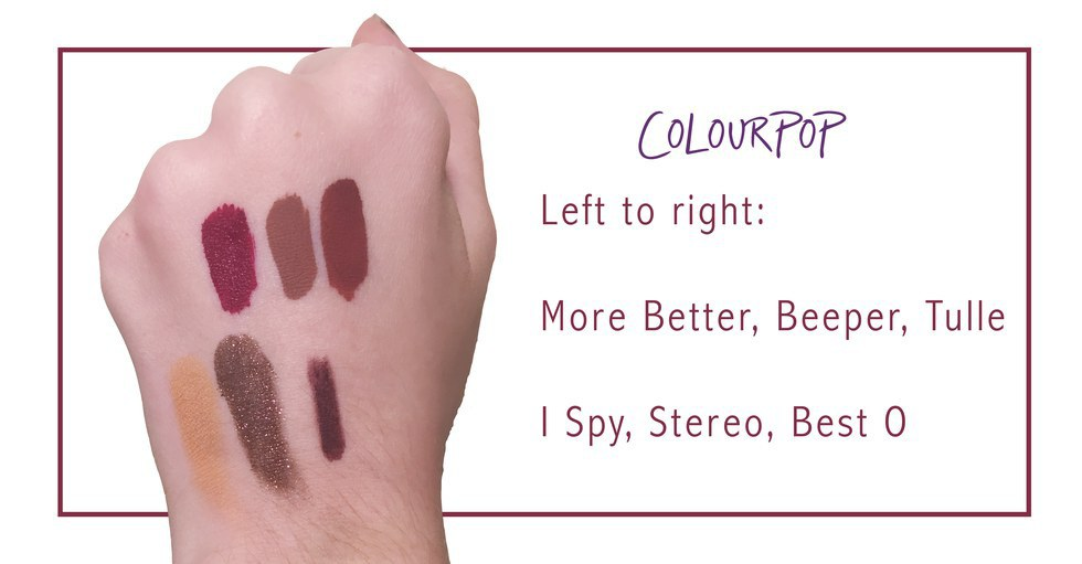 Makeup Review: Colourpop Cosmetics