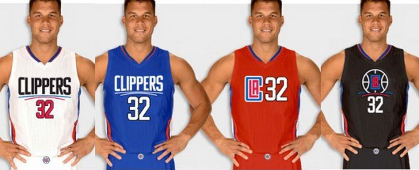 b9d7495ac542 ... desperately try to usher in the Steve Ballmer era and cleanse their  fans  collective palettes of Donald Sterling. Their new uniforms maintain  their red