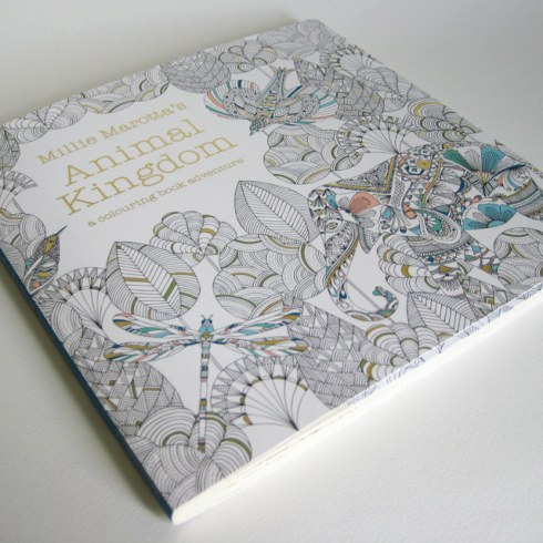 Marottas Coloring Book Is The Animal Version Of Basfords Books Once Again Drawing On Intricate Detail Pages Are Filled With Elephants Rhinoceroses