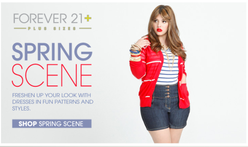 Forever 21 Launches Plus Size Activewear Range