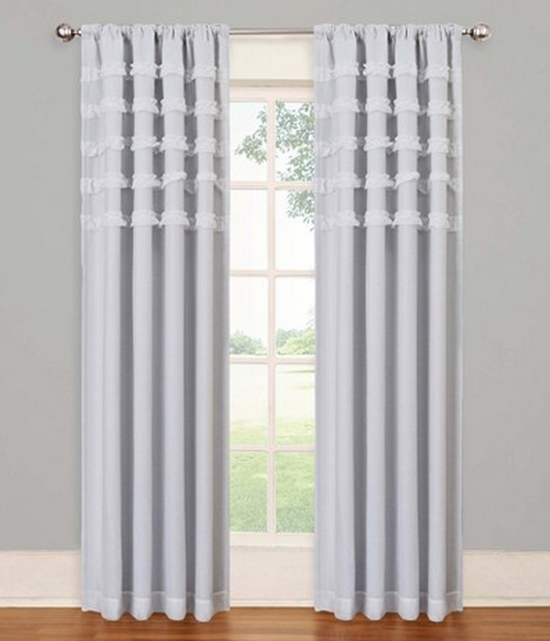 Blackout Curtains Like The Eclipse My Scene Ruffle Batiste Window Panel Are  Both Cute And Effective, For Only $34.99. Not A Bad Price To Pay For Sleep! Part 72