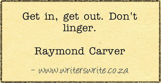 raymond carver the author who gave me hope a terrific quote from his essay on writing