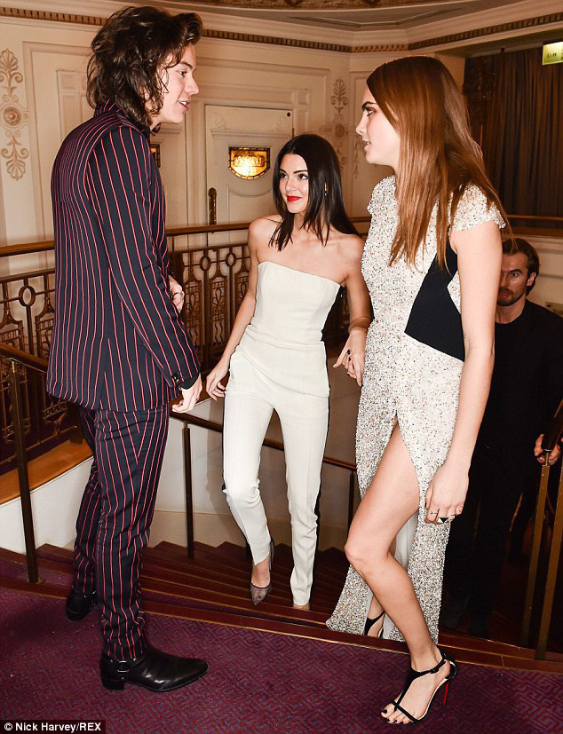 harry styles and kendall jenner - 633×807