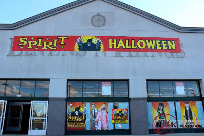 as soon as october rolls around suddenly all of the abandoned storefronts in that shopping mall down the street turn into halloween stores