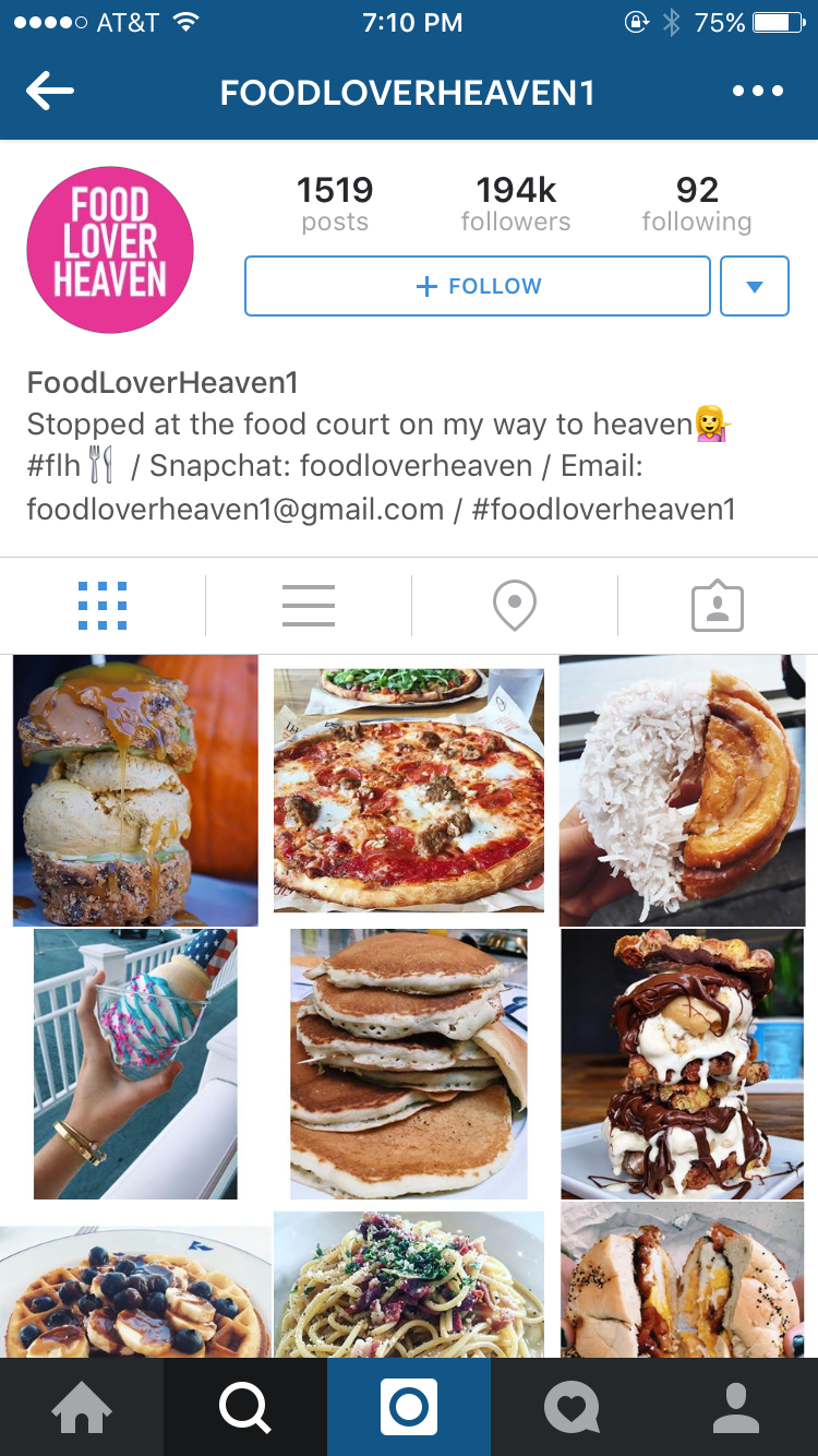 Insta delicious the best food accounts to follow on instagram probably one of the most hunger inducing accounts on this entire app god knows i need those pancakes right now forumfinder Gallery