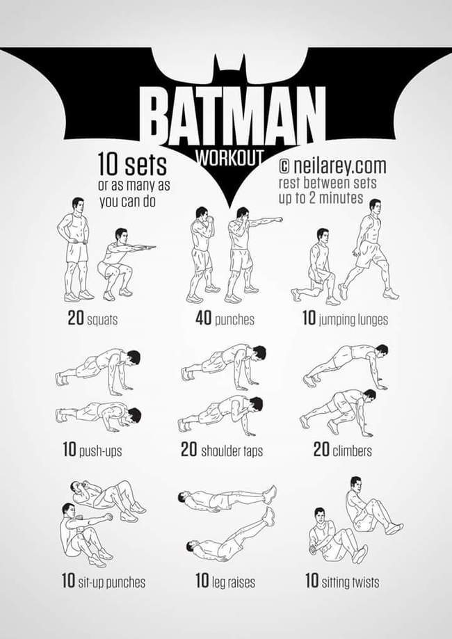 Nerds Rejoice The Batman Workout Is All You Need To Get Ripped