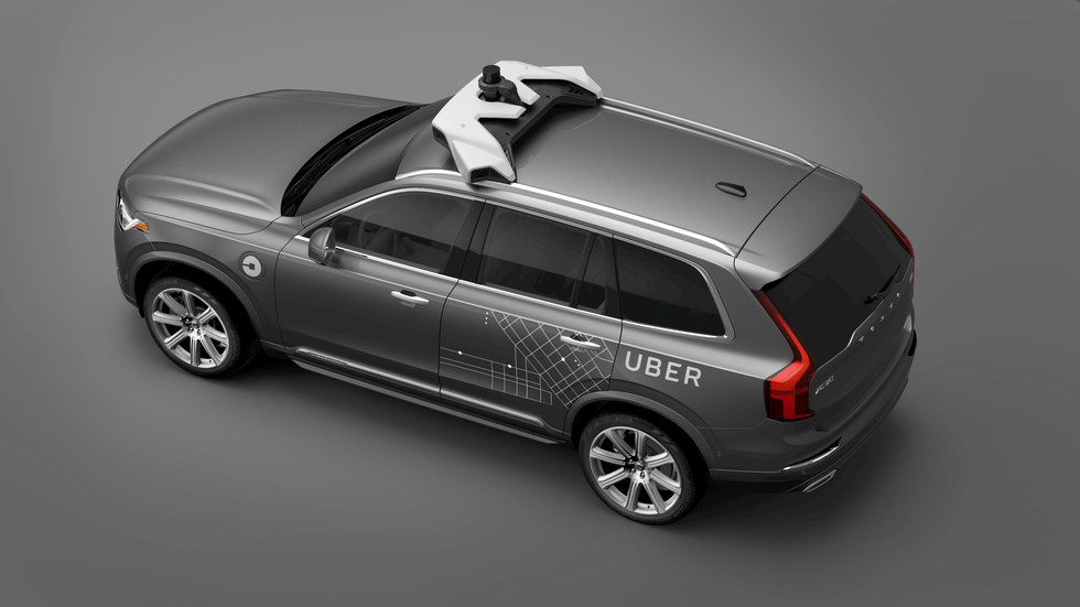 Uber inks deal with Volvo for 24000 self-driving cars