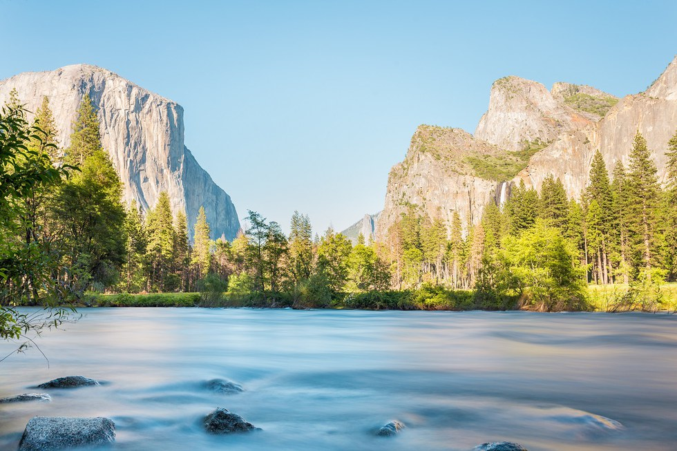 Valley View over the Merced River, Yosemite National Park