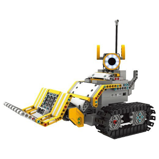 Design and control any robot in your imagination with Jimu BuilderBots Kit.