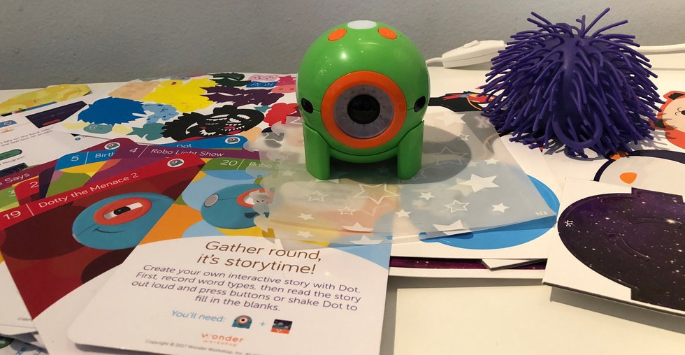 Dot Creativity Kit is a clever way to mix dress up and coding for young children.