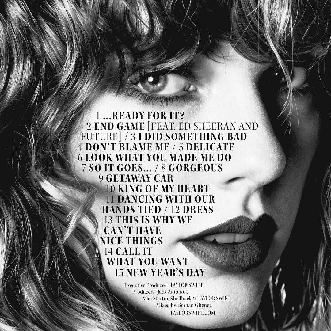 The Best Lyrics From Each Song On Reputation