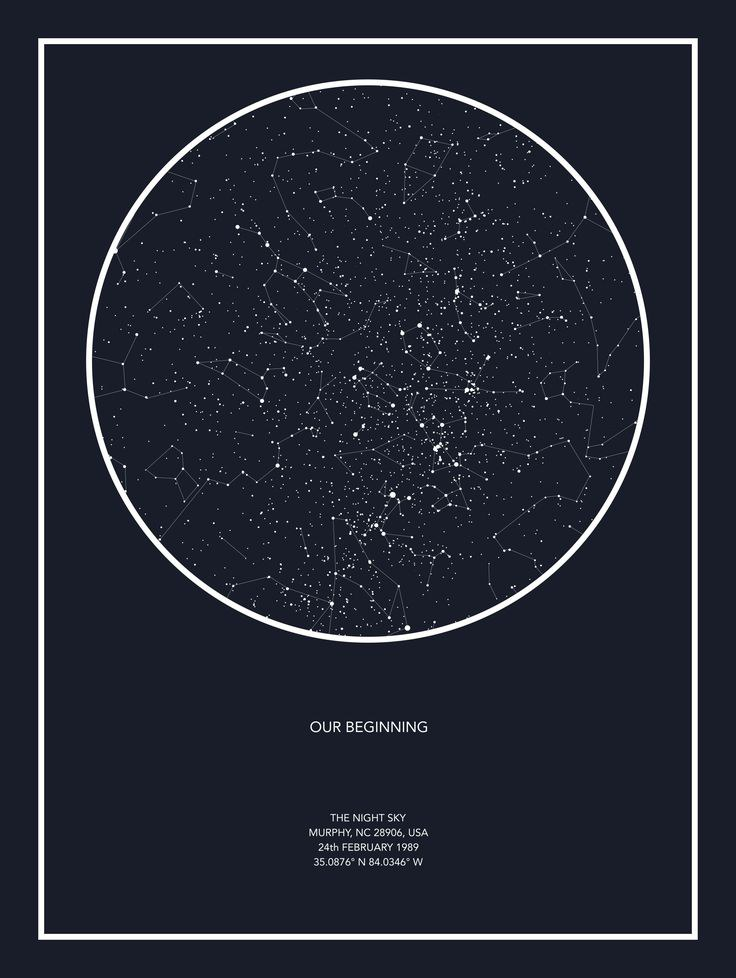 10 unique xmas gift ideas to get your boyfriend if hes been a good boy you can choose the exact date and place and get a map of exactly what the sky looked like that night romantic af negle Gallery
