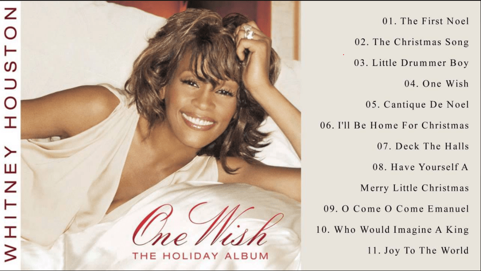 18one wish whitney houston - Black Christmas Songs