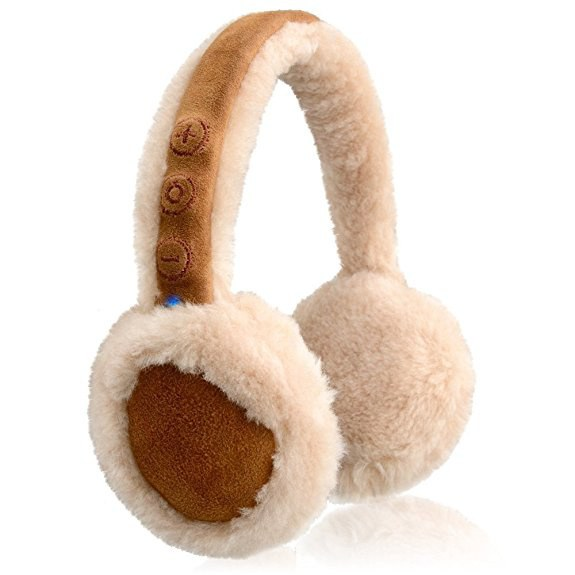 NoiseHush are headphones that double as earmuffs.