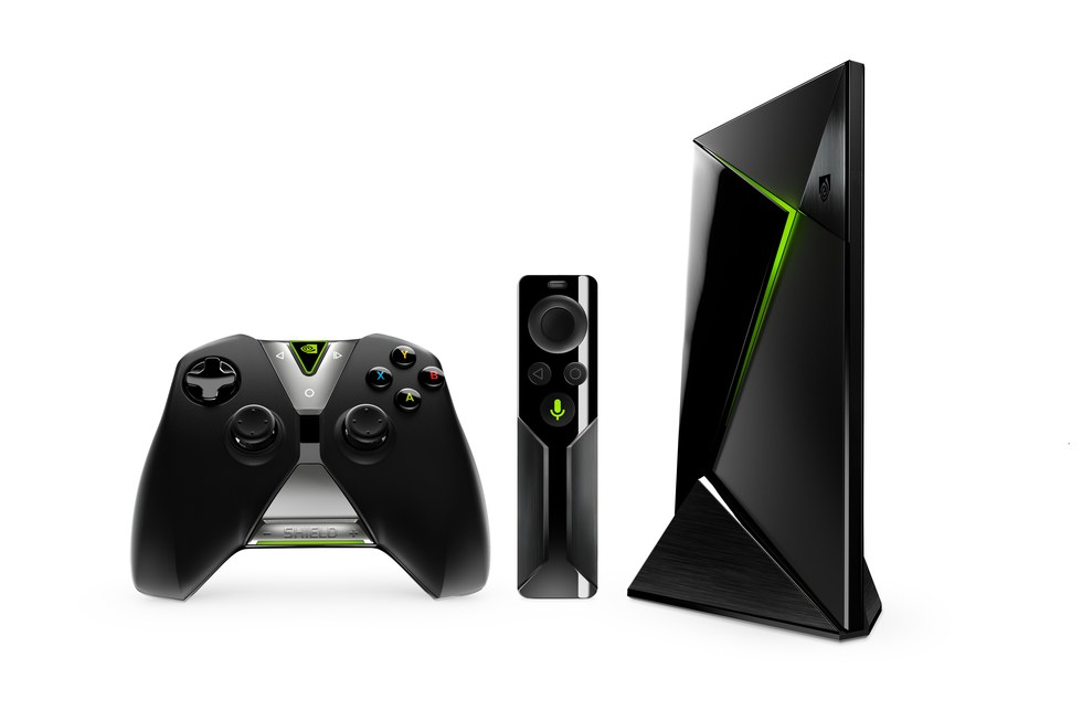 Picture of Nvidia Shield TV with Gaming console .