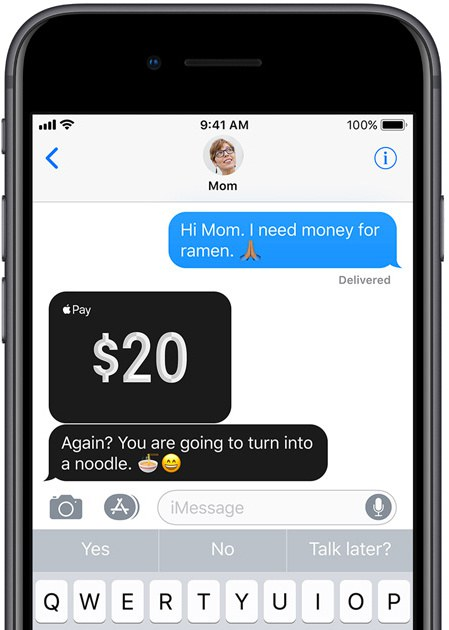 iOS 11.2 pushes out support for Apple Pay Cash, a new peer to peer payment service in iMessage
