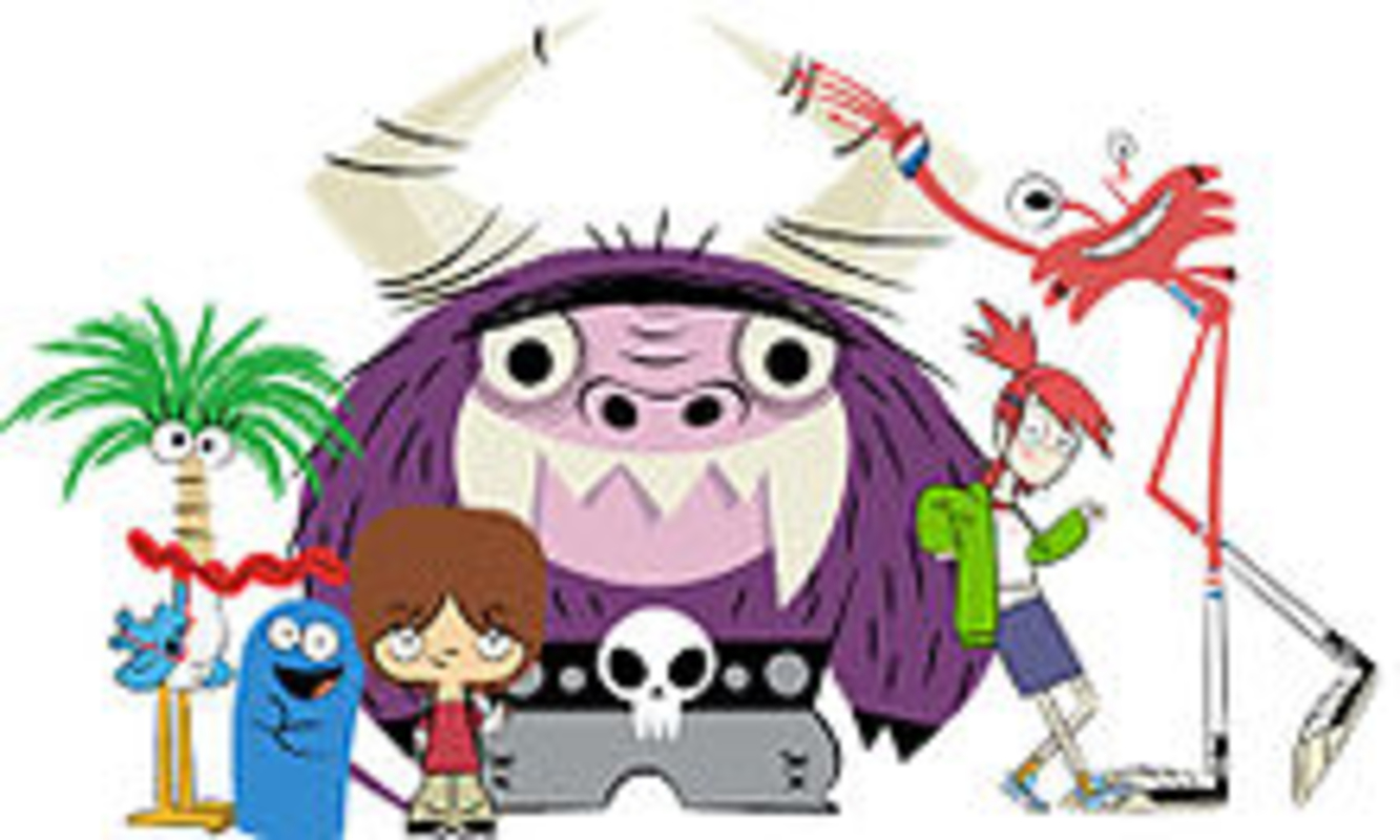 Fosters Home For Imaginary 4 questions i have for 'foster's home for imaginary friends'