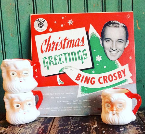 Bing Crosby-White Christmas: 70 years old but still as popular as ever; no Christmas  songs list can exist without this one. The best-selling single of all ...