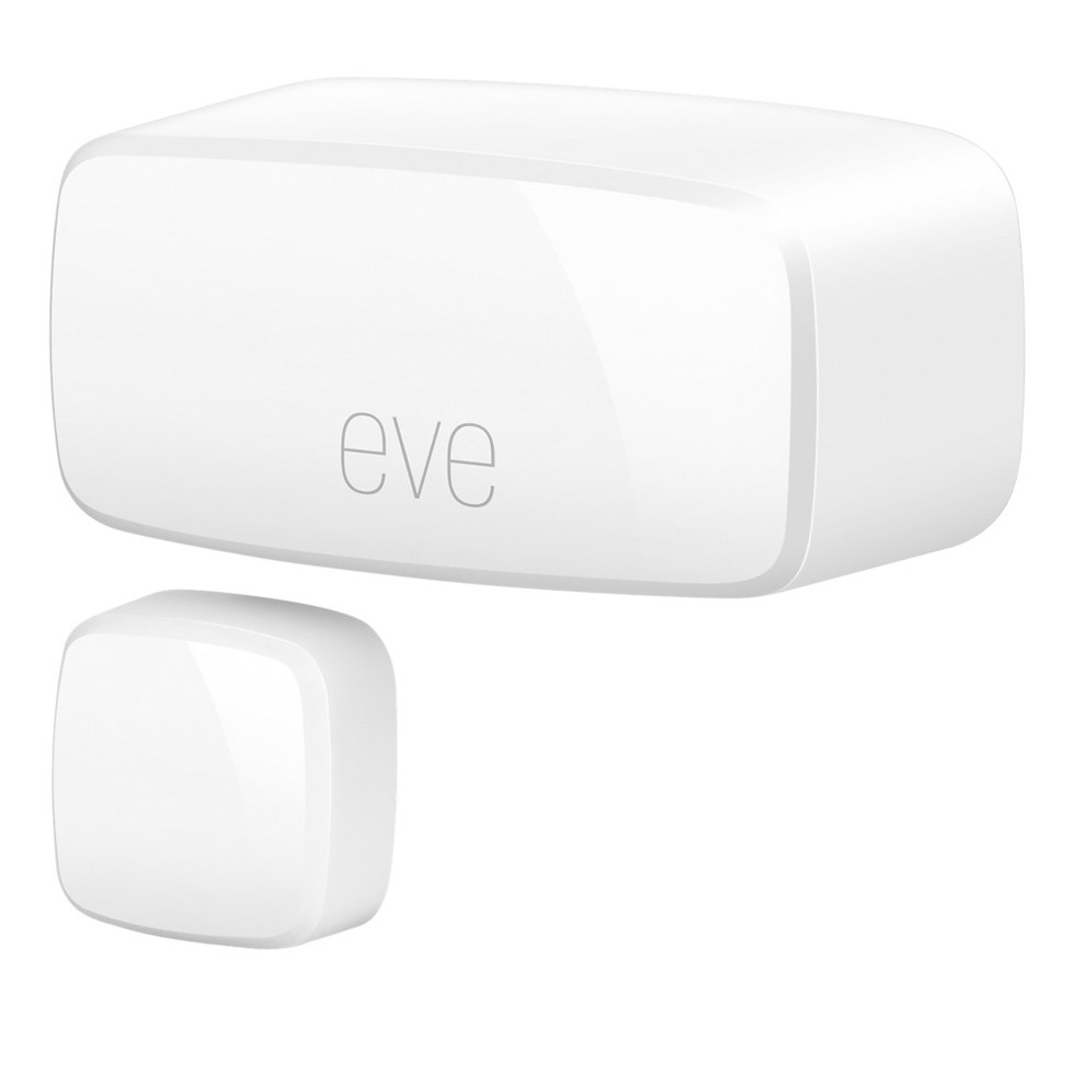 Eve Door and Window sensor are well-designed, but are costly at $39.95 each