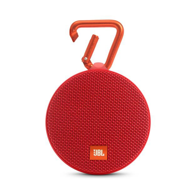 The JBL Clip 2 speaker has up to eight hours of playback time \u2014 more than enough time to scrub clean