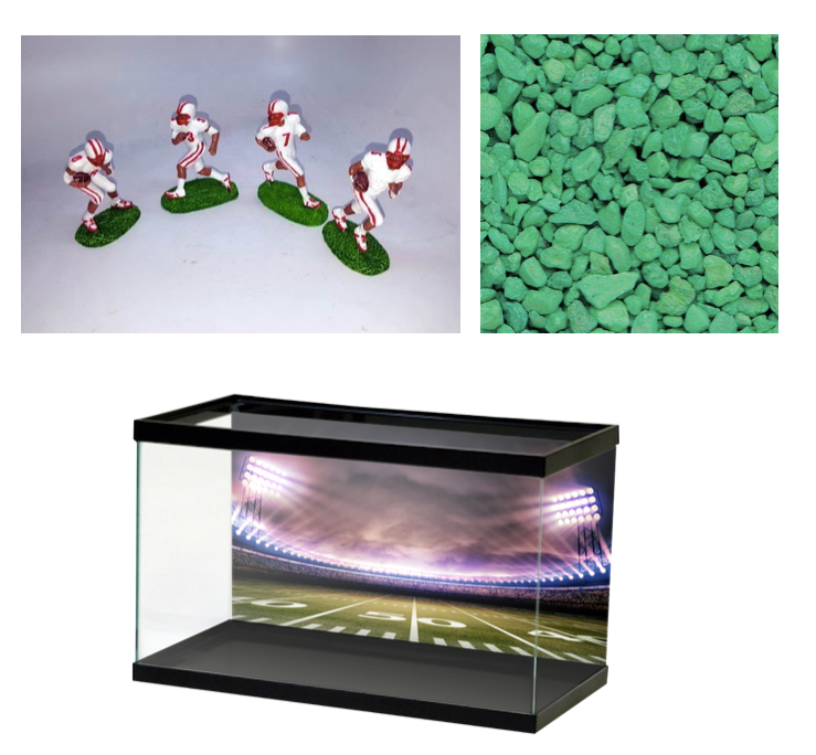 80 Awesomely Creative Fish Tank Decorations Azula For The Love
