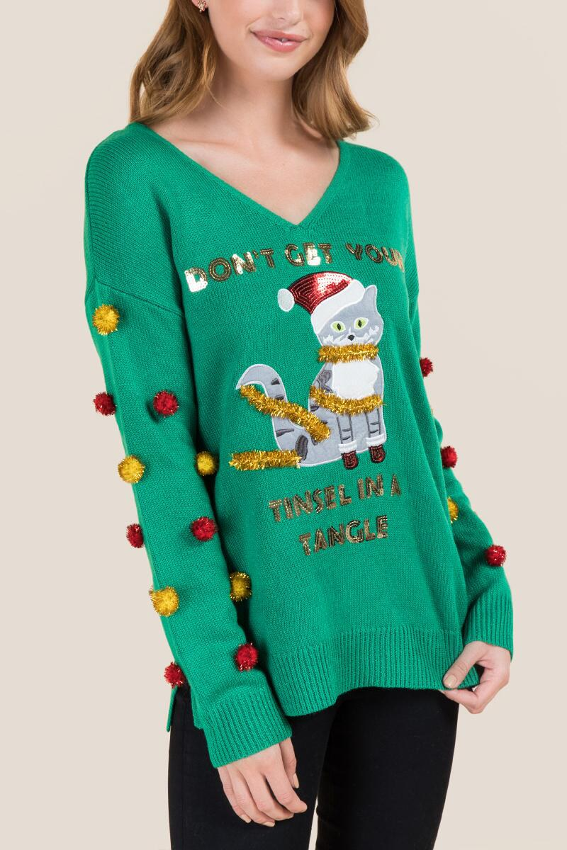 Ugly Christmas Sweaters You Need This December