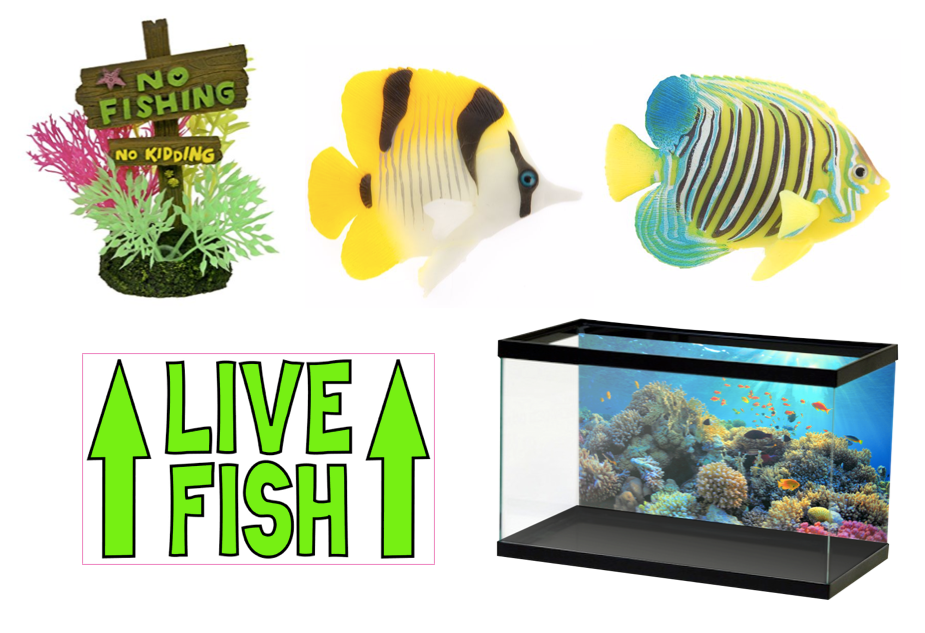 80 awesomely creative fish tank decorations for Walmart fish decor