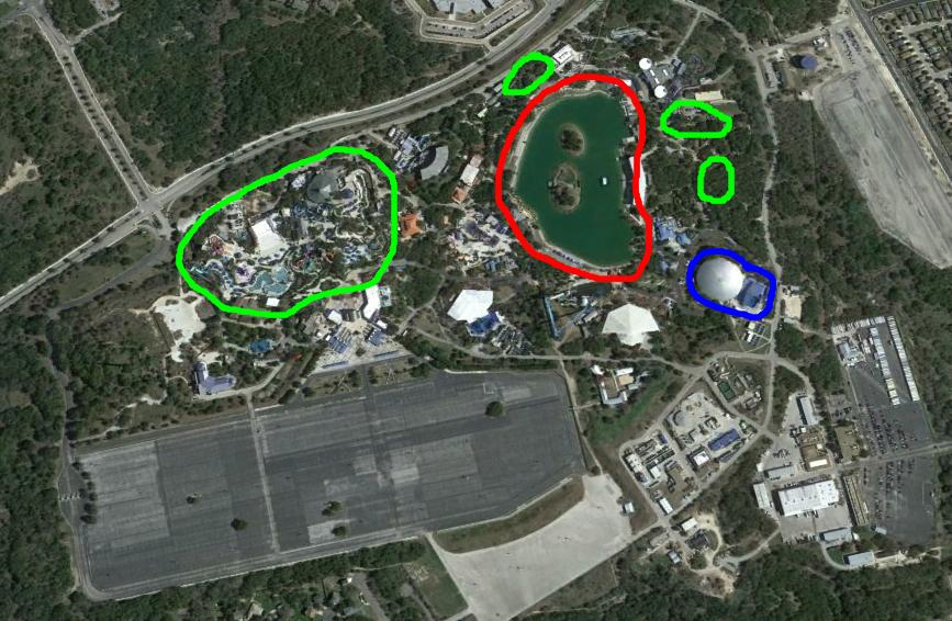 Seaworld Car Park Compared To Tanks