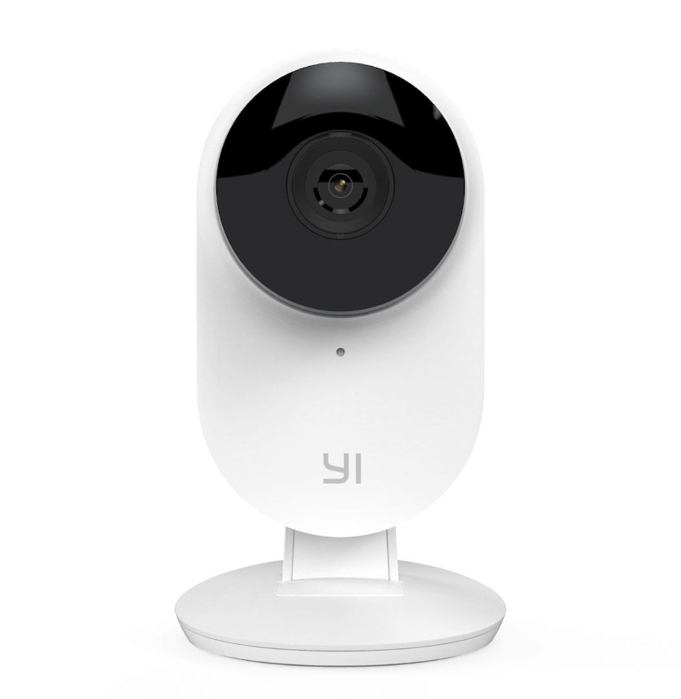 The Yi 1080P Home Camera is one of our favorites in terms of design