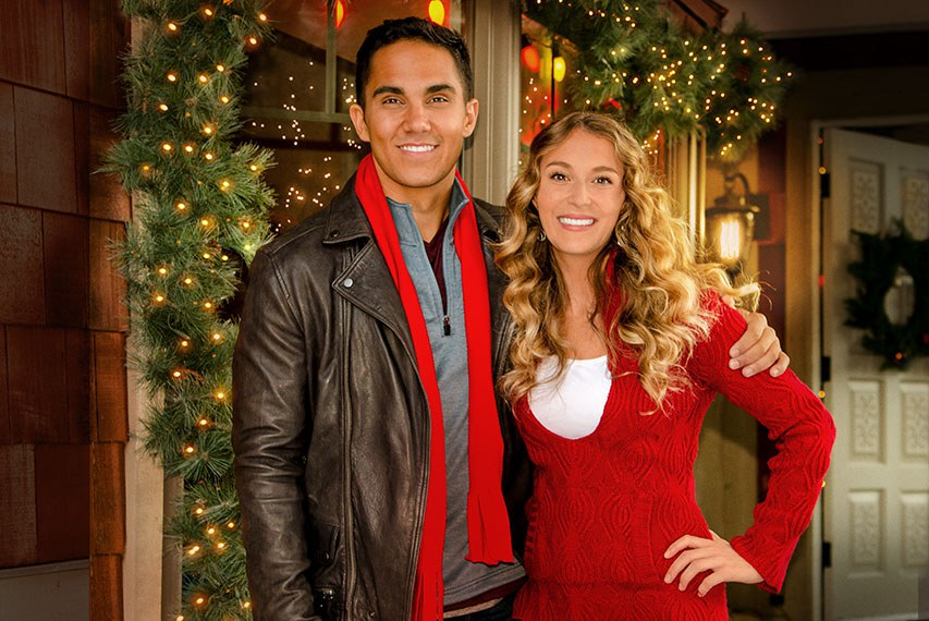 okay this one is basically on the list solely because carlos from big time rush is in it and the main girl is the girl from spy kids - Big Time Rush Christmas