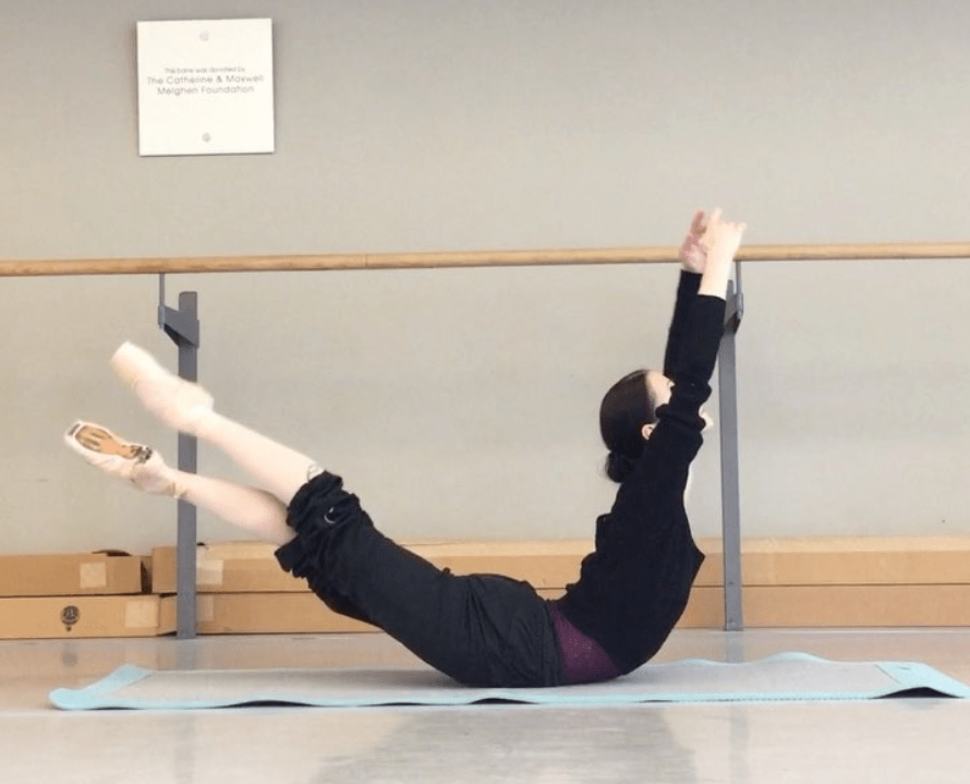 This Ballerina's Mind-Boggling Workout Is Serious #Goals