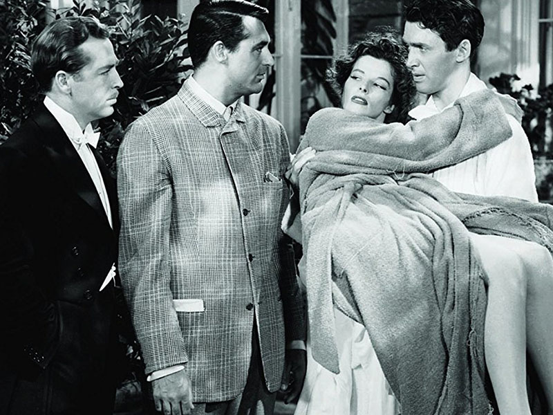 For a Comedy of Manners,  The Philadelphia Story  Is Awfully Screwball