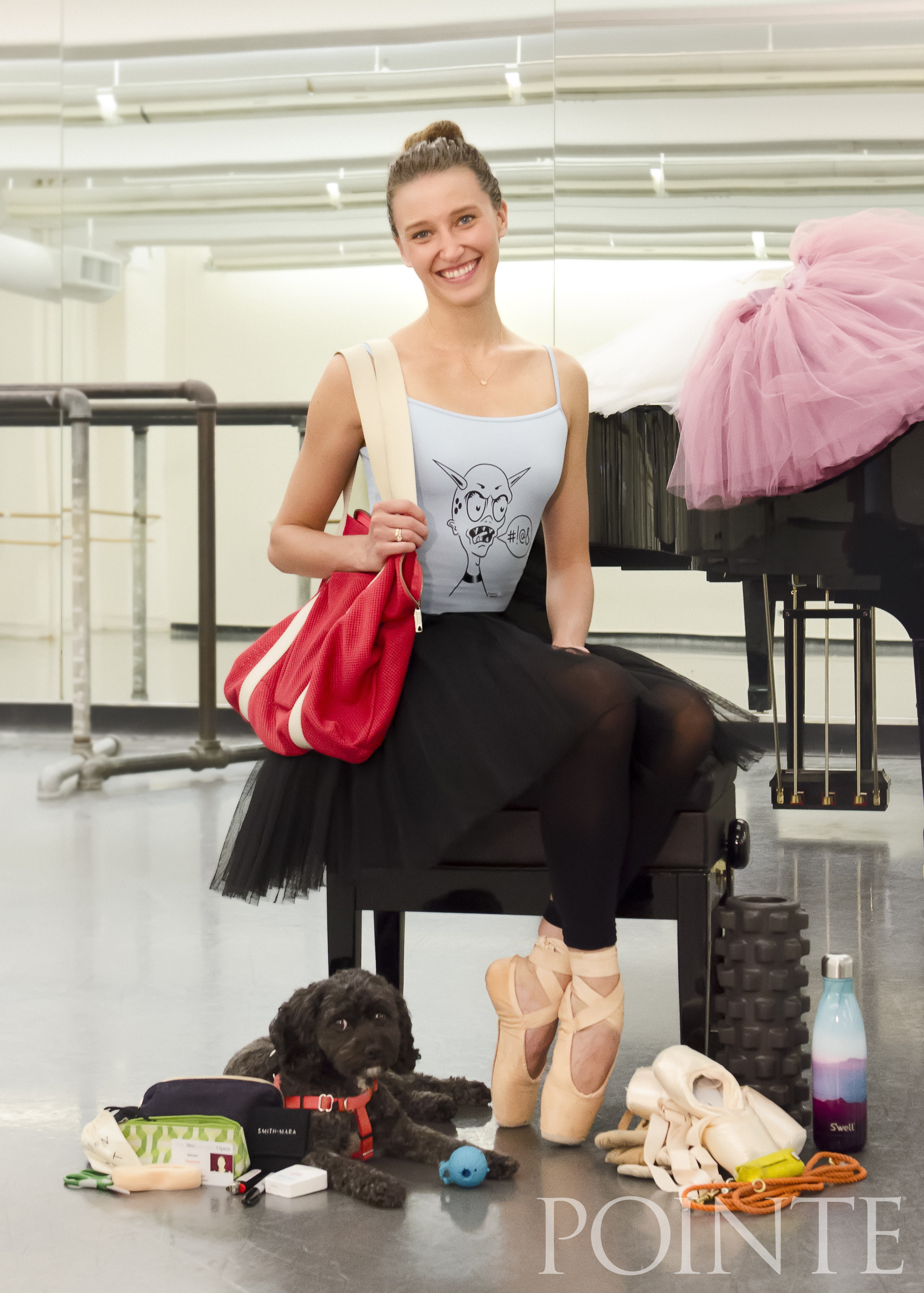 See Every Dance Bag Essential for ABT's Devon Teuscher and Her Dog Riley