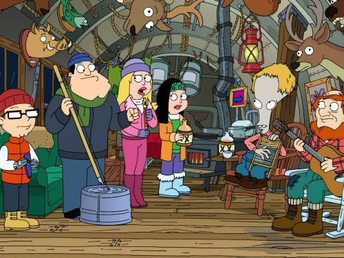 parks and recreation christmas scandal season 2 episode 12 - American Dad Christmas Episode