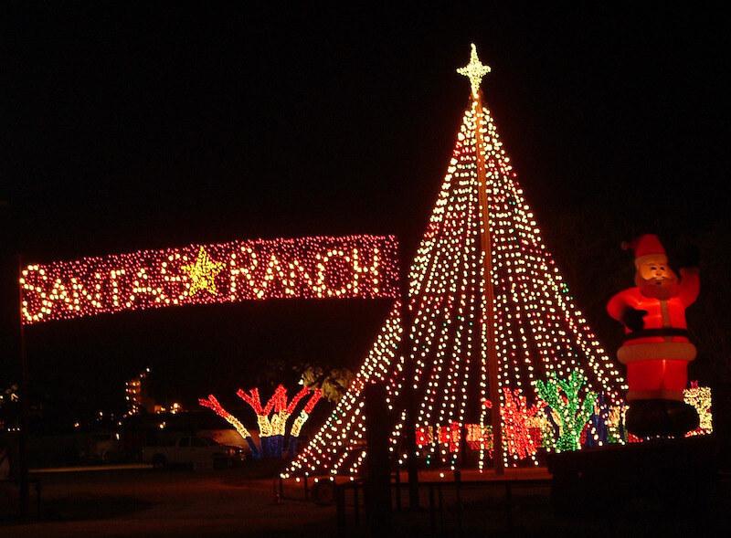 santas ranch new braunfels texas - Windcrest Christmas Lights