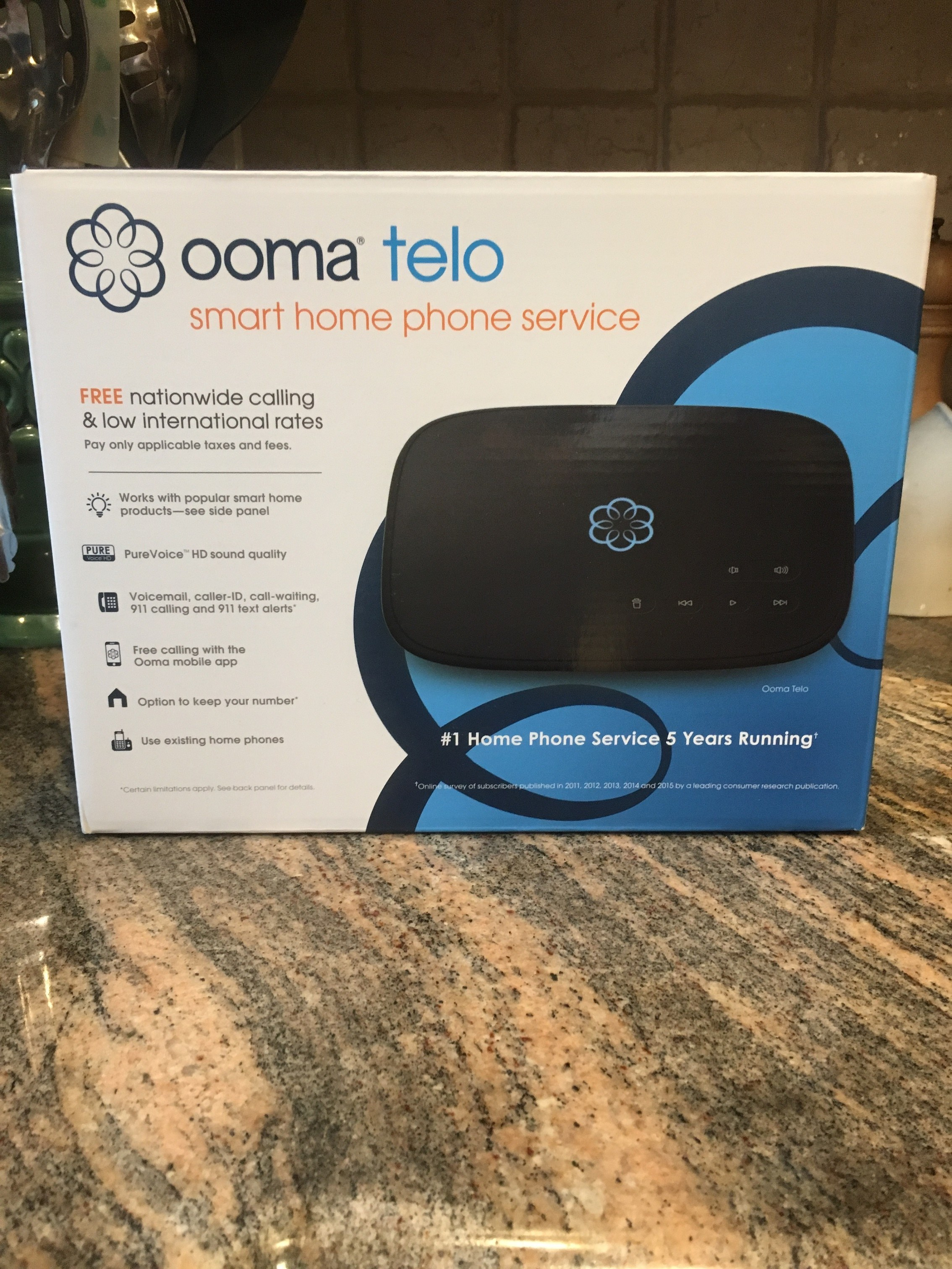 Ooma Telo With Voip Diy Home Security System Review Panasonic Repeater For Dect 60 Phone Models Kx Tga405b The Depot