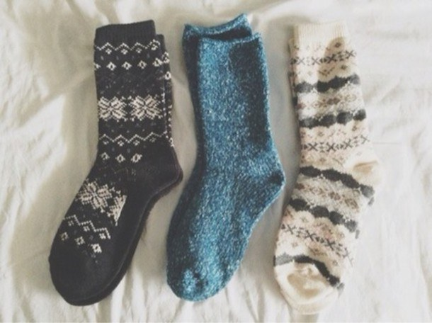 2 fuzzy scarves and socks - What Girls Want For Christmas