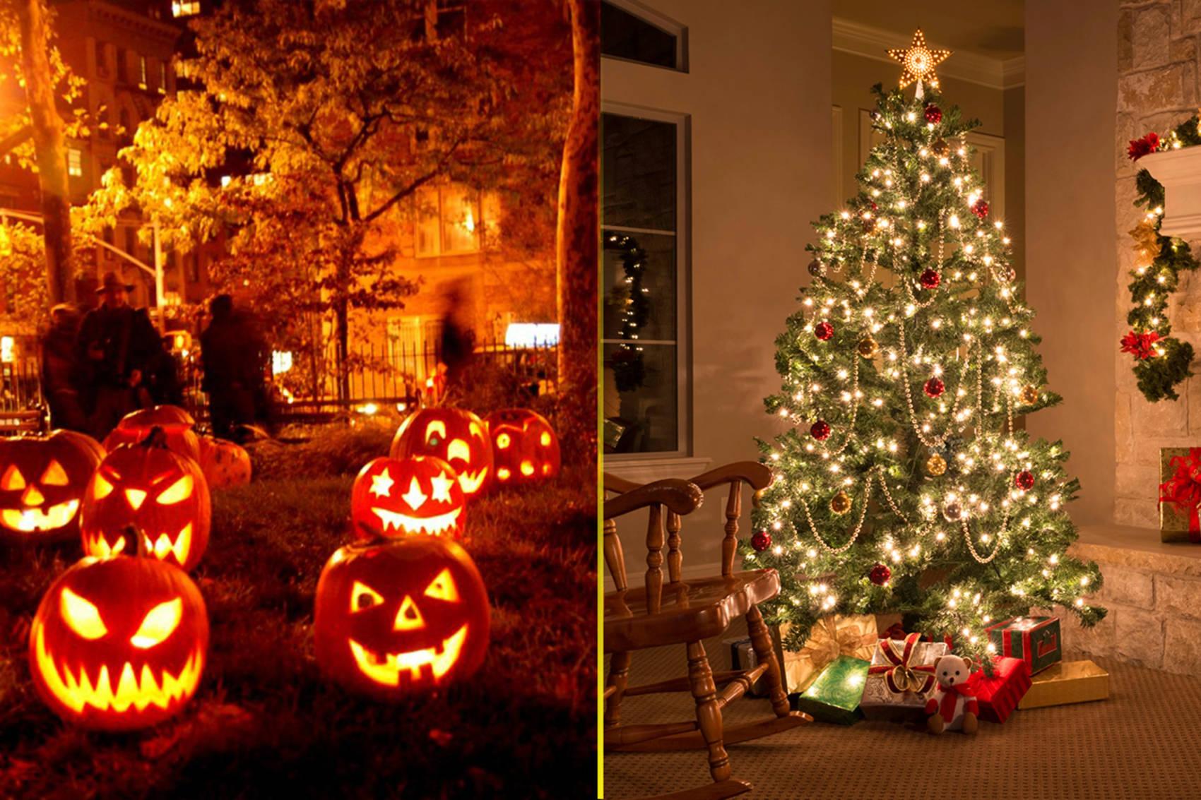 Christmas Halloween.6 Reasons Why Christmas Is Better Than Halloween