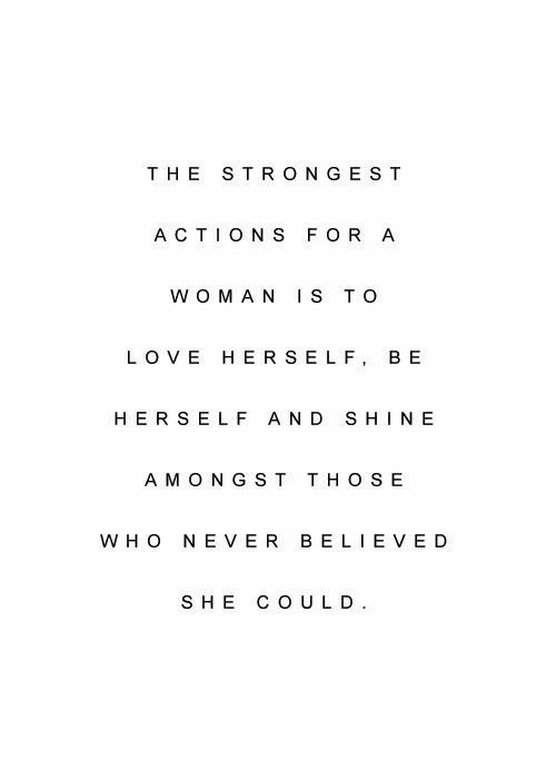 23 woman empowerment quotes to remind you 2018 will be for Minimalist leben