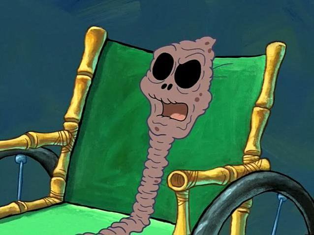 That Weird Raisin Grandma From Spongebob Was A Straight Up Savage