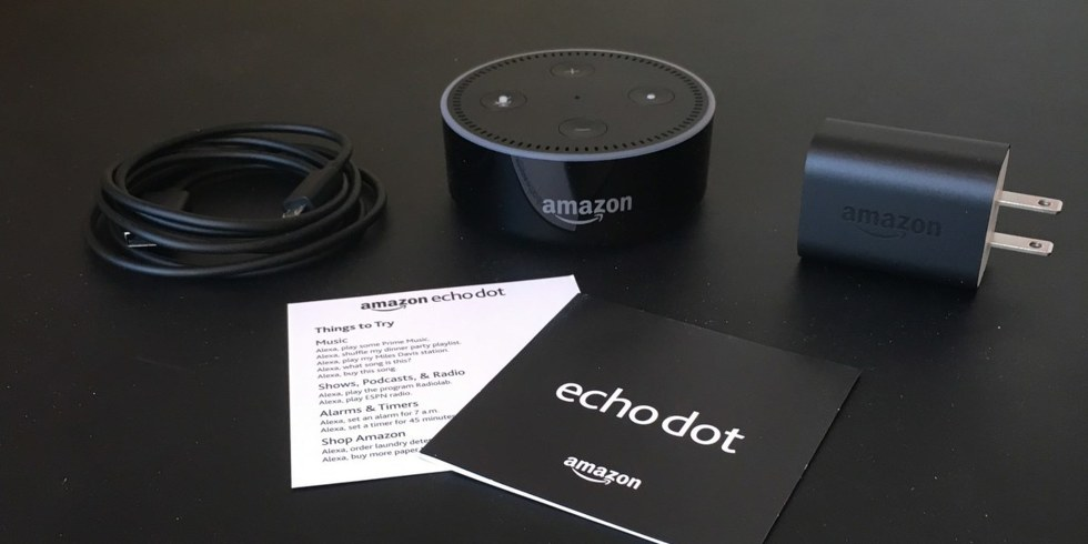 The Echo Dot may have been the most popular selling item on Amazon this holiday season, but you still can't make Alexa talk in a male voice