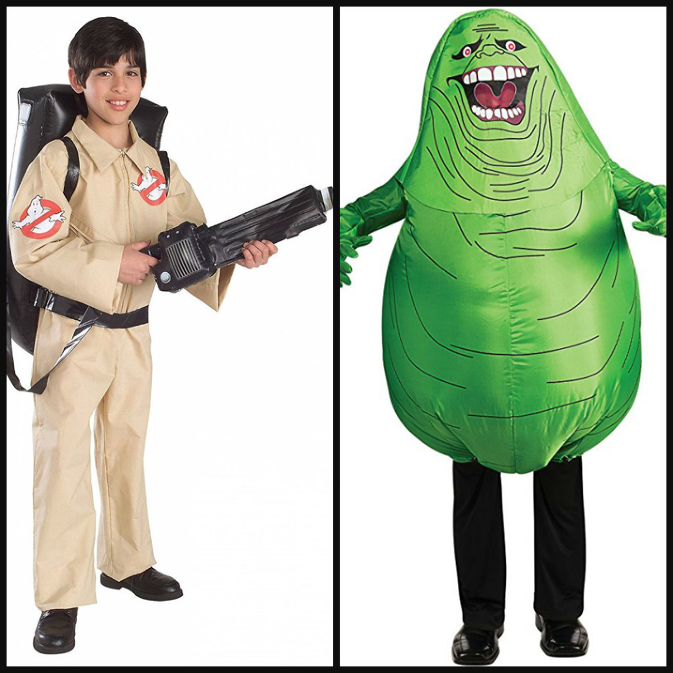 Your part in this costume the actual Ghostbuster is also an easy find and lucky you various outlets have an affordable replica Proton Pack this year so ...  sc 1 st  Comic Sands & Father u0026 Son Costumes: 5 Ideas for Halloween 2017 - Comic Sands