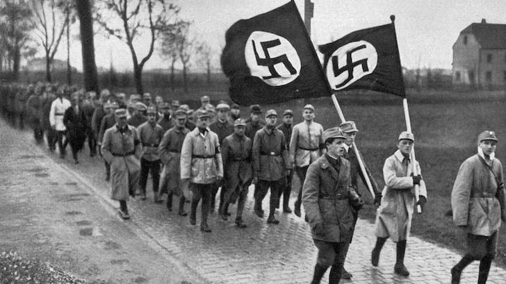 characteristics of the nazi state The government of nazi germany was a fascist, totalitarian state totalitarian regimes, in contrast to a dictatorship, establish complete political, social, and cultural control over their subjects, and are usually headed by a charismatic leader.